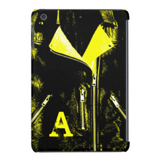 "Leather Jacket Yellow ""Monogram"" iPad Mini case"