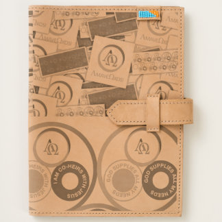 Leather Journal with iPad pouch