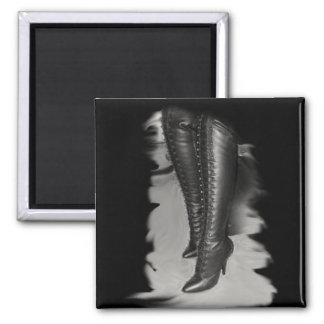 Leather Lace Up Boots Magnets