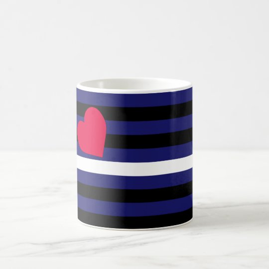 Leather Latex and BDSM Pride Flag Coffee Mug
