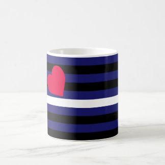 Leather Latex and BDSM Pride Flag Coffee Mug