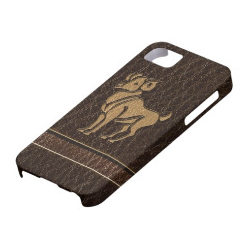 Leather-Look Aries iPhone 5 Cover