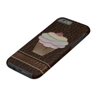 Leather-Look Baking Dark Tough iPhone 6 Case