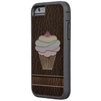 Leather-Look Baking Dark Tough Xtreme iPhone 6 Case