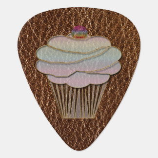 Leather-Look Baking Guitar Pick