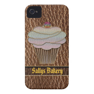 Leather-Look Baking iPhone 4 Case