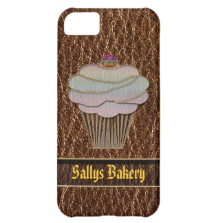 Leather-Look Baking iPhone 5C Cover