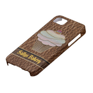 Leather-Look Baking iPhone SE/5/5s Case