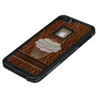 Leather-Look Baking LifeProof FRĒ iPhone 6/6s Plus Case