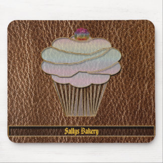 Leather-Look Baking Mouse Pad