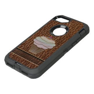 Leather-Look Baking OtterBox Defender iPhone 7 Case