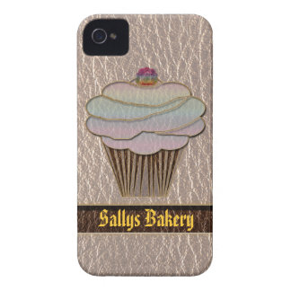 Leather-Look Baking Soft Case-Mate iPhone 4 Case