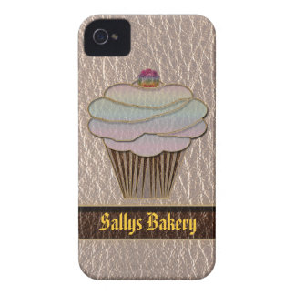 Leather-Look Baking Soft iPhone 4 Case