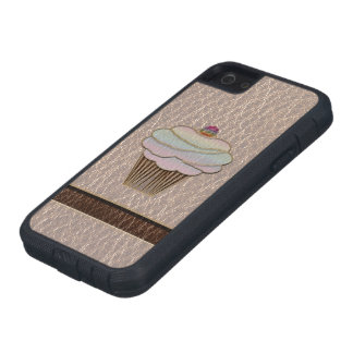 Leather-Look Baking Soft iPhone SE/5/5s Case