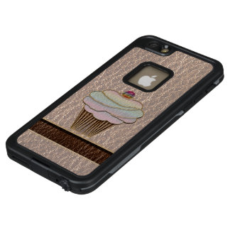 Leather-Look Baking Soft LifeProof FRĒ iPhone 6/6s Plus Case