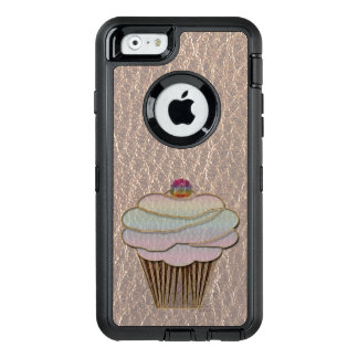 Leather-Look Baking Soft OtterBox Defender iPhone Case