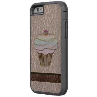 Leather-Look Baking Soft Tough Xtreme iPhone 6 Case