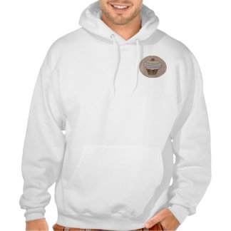 Leather-Look Baking Soft Sweatshirts