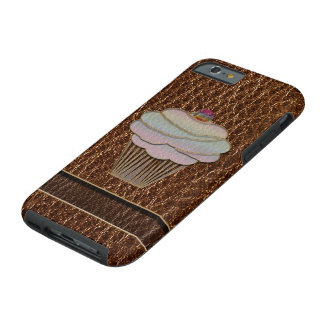 Leather-Look Baking Tough iPhone 6 Case