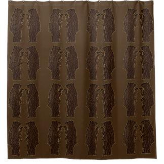 Curtains Ideas black leather shower curtain : Brown Bear Shower Curtains   Zazzle