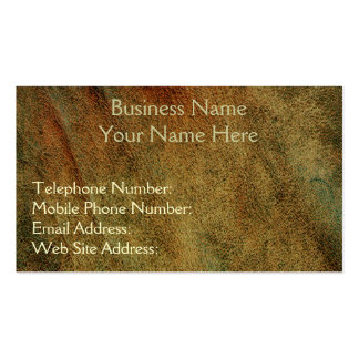 Leather-look Business & Profile Cards Business Card