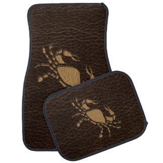 Leather-Look Cancer Floor Mat