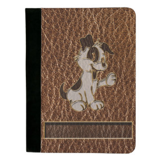Leather-Look Dog Padfolio
