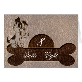 Leather-Look Dog Soft Card