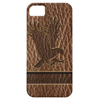 Leather-Look Eagle iPhone 5 Case