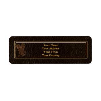 Leather-Look Eagle Dark Label