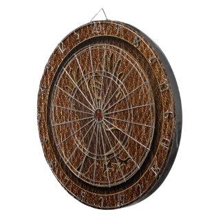 Leather-Look Eagle Dart Board