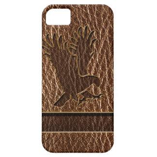 Leather-Look Eagle iPhone SE/5/5s Case
