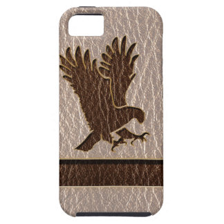 Leather-Look Eagle Soft iPhone 5 Cover
