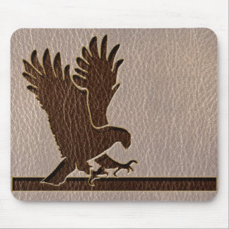 Leather-Look Eagle Soft Mouse Pad