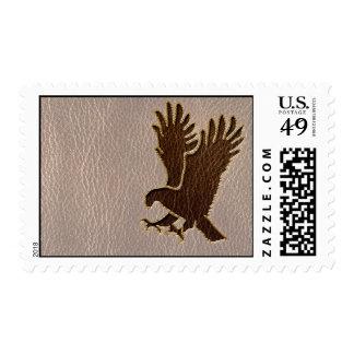 Leather-Look Eagle Soft Postage