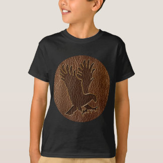 Leather-Look Eagle T-Shirt