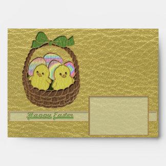 Leather-Look Easter Basket Envelope