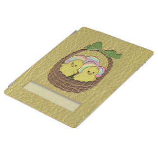Leather-Look Easter Basket iPad Cover
