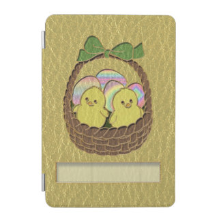 Leather-Look Easter Basket iPad Mini Cover