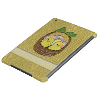 Leather-Look Easter Basket iPad Air Cover