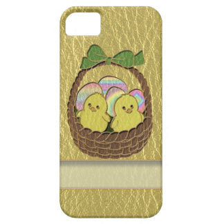 Leather-Look Easter Basket iPhone SE/5/5s Case
