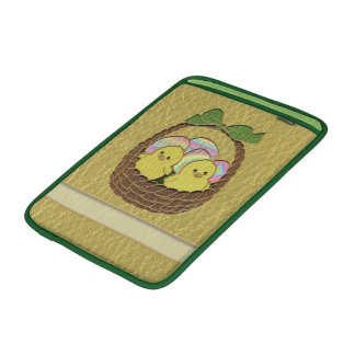 Leather-Look Easter Basket MacBook Air Sleeve
