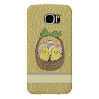 Leather-Look Easter Basket Samsung Galaxy S6 Case
