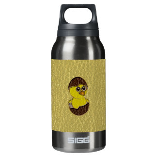 Leather-Look Easter Chicken Insulated Water Bottle