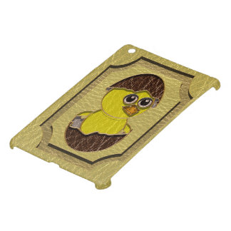 Leather-Look Easter Chicken iPad Mini Cover