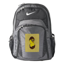 Leather-Look Easter Chicken Nike Backpack