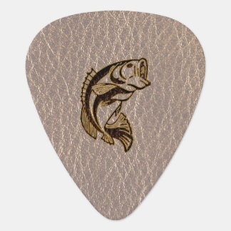 Leather-Look Fish Soft Guitar Pick