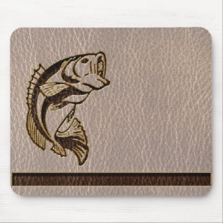 Leather-Look Fish Soft Mouse Pad