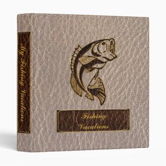 Leather-Look Fish Soft Vinyl Binders
