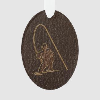Leather-Look Fisherman Dark